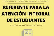 CFE BRINDA ATENCIÓN INTEGRAL A ESTUDIANTES