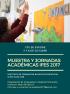 Muestra y jornadas académicas 2017